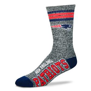 New England Patriots - Marbled 4 Stripe Deuce THUMBNAIL