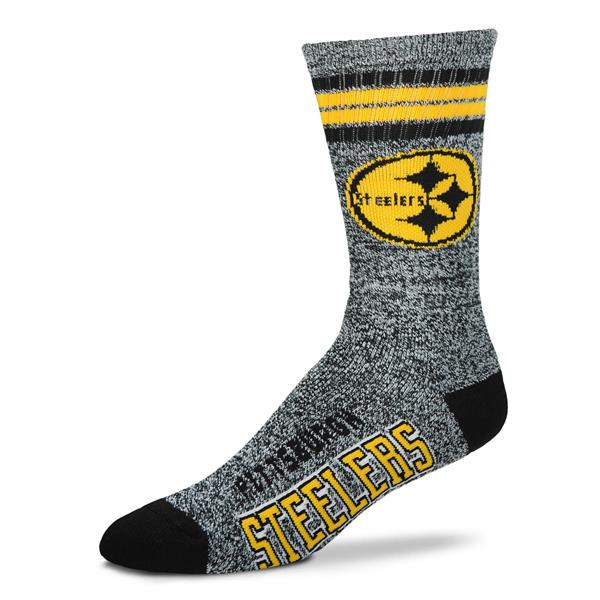 Pittsburgh Steelers - Marbled 4 Stripe Deuce LARGE