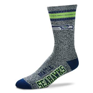 Seattle Seahawks - Marbled 4 Stripe Deuce THUMBNAIL