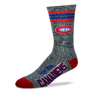 Montreal Canadiens - Marbled 4 Stripe Deuce THUMBNAIL