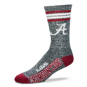 Alabama Crimson Tide - Marbled 4 Stripe Deuce THUMBNAIL