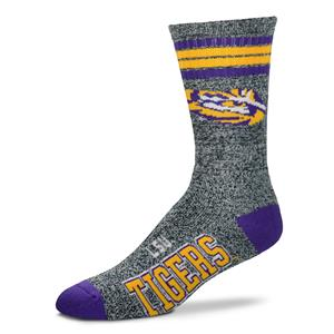 LSU Tigers - Marbled 4 Stripe Deuce THUMBNAIL