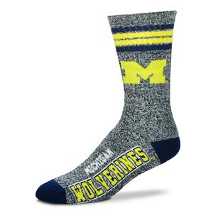 Michigan Wolverines - Marbled 4 Stripe Deuce THUMBNAIL