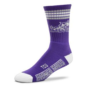 TCU Horned Frogs - 4 Stripe Deuce THUMBNAIL