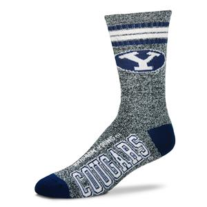 Brigham Young Cougars - Marbled 4 Stripe Deuce THUMBNAIL