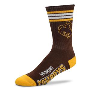Wyoming Cowboys - 4 Stripe Deuce THUMBNAIL