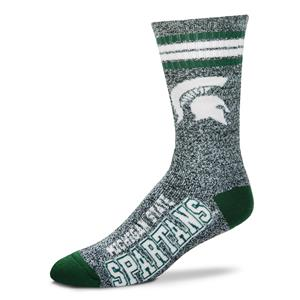 Michigan State Spartans - Marbled 4 Stripe Deuce THUMBNAIL