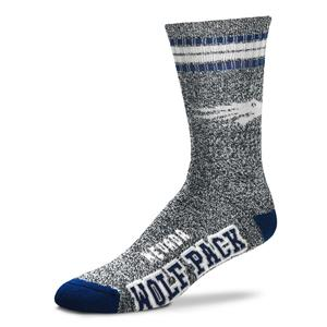 Nevada Wolf Pack - Marbled 4 Stripe Deuce THUMBNAIL
