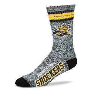 Wichita State Shockers - Marbled 4 Stripe Deuce THUMBNAIL