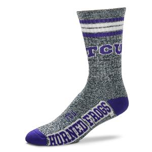 TCU Horned Frogs - Marbled 4 Stripe Deuce THUMBNAIL