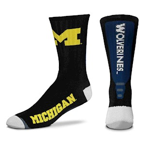 Michigan Wolverines - Jump Key Black THUMBNAIL