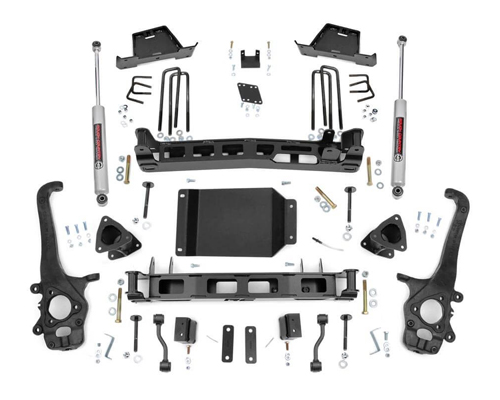 "Fat Bob's Garage, Rough Country Part #875S, Nissan Titan 6"" Suspension Lift Kit 4WD 2004-2014"