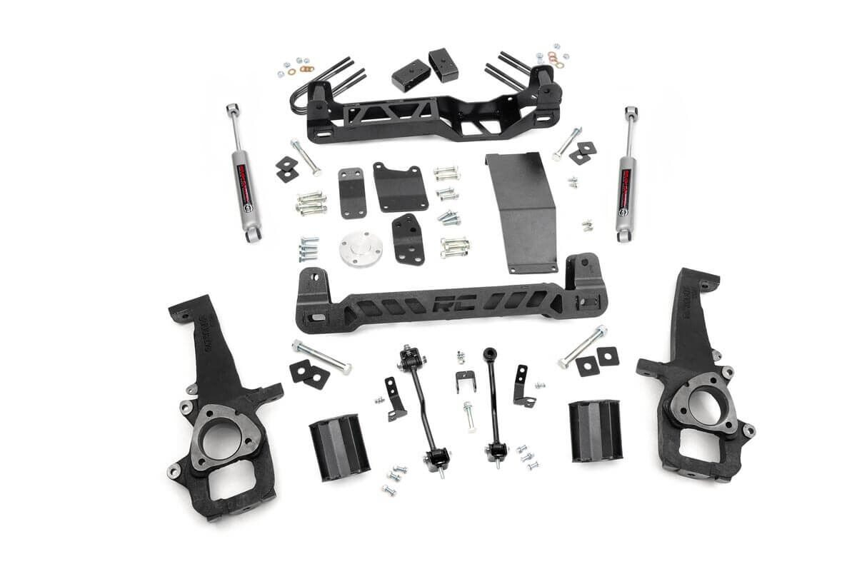 "Fat Bob's Garage, Rough Country Part #32630, Dodge 1500 4"" Suspension Lift Kit 4WD 2006-2008 THUMBNAIL"