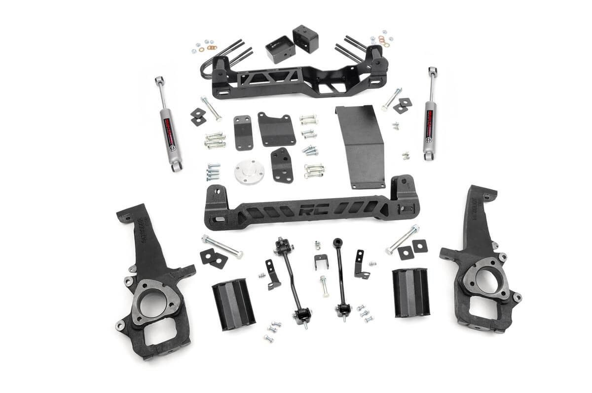 "Fat Bob's Garage, Rough Country Part #32730, Dodge Ram 1500 6"" Suspension Lift 4WD 2006-2008_THUMBNAIL"