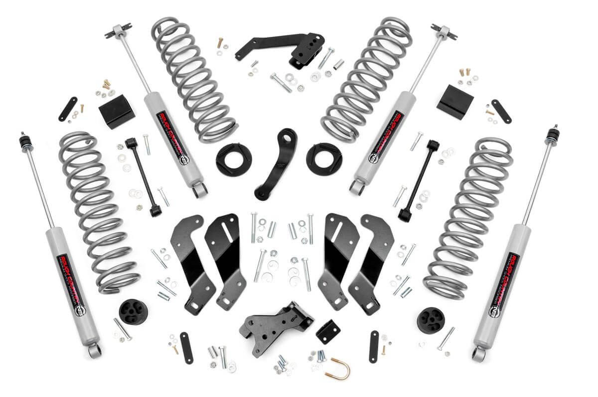 "Jeep Wrangler JK 3.5"" Suspension Lift Kit 2007-2018 THUMBNAIL"