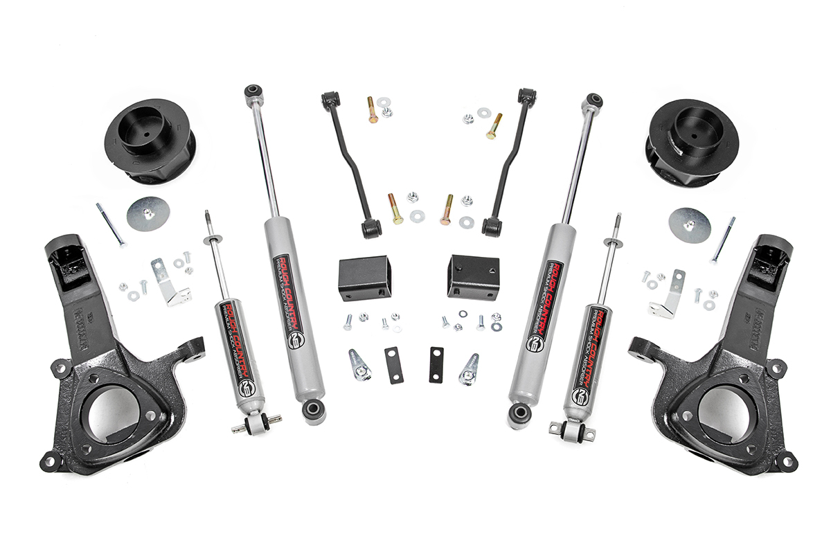 "Dodge Ram 1500 4"" Suspension Lift Kit 2009-2018 2wd THUMBNAIL"