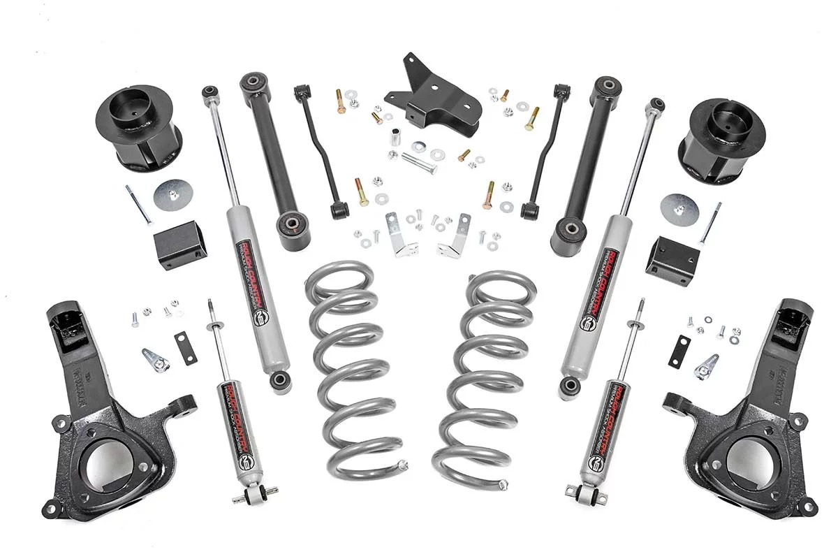 "Dodge Ram 1500 6"" Suspension Lift Kit 2009-2018 2wd THUMBNAIL"