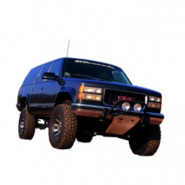 Chevrolet/GMC Pickup/Tahoe/Yukon/Suburban Light Bar, Black Gator Finish Powder Coat Old body style 2WD/4WD 1988-2000 MAIN