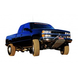 Chevrolet/GMC Pickup/Tahoe/Yukon/Suburban Light Bar, Stainless Steel Polished Old body style 2WD/4WD 1988-2000 MAIN