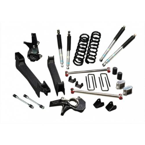 "Chevrolet/GMC Silverado/Sierra 1500 3""-6"" Lift Kit w/Bilstein 5100 Series Shocks, Coil Spring 2WD 2WD 1999-2007 LARGE"