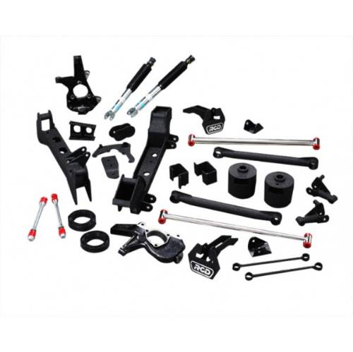 "Chevrolet/GMC Tahoe/Yukon/Suburban/Avalanche 4""-6"" Lift Kit w/Bilstein 5100 Shocks, IFS 6Lug 4WD 1999-2006 LARGE"