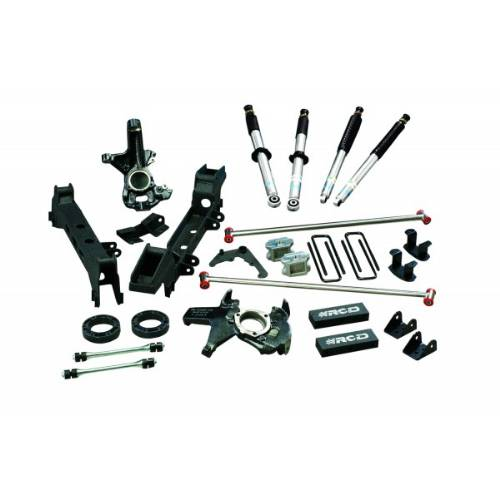 "Chevrolet/GMC Silverado/Sierra 1500/1500HD 4""-6"" Lift Kit w/Bilstein 5100 Shocks 6Lug 4WD 1988-1998 LARGE"