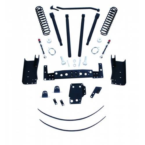 "Fat Bob's Garage, RCD Suspension, Jeep Cherokee 6"" Long Arm Lift Kit w/ Fox Shock Absorbers 4WD/2WD 1984-2001 LARGE"