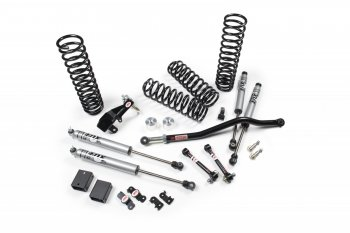 "Fat Bob's Garage, JKS, Jeep Wrangler 2 Door 3.5"" Jspec Suspension System 2007-Present MAIN"