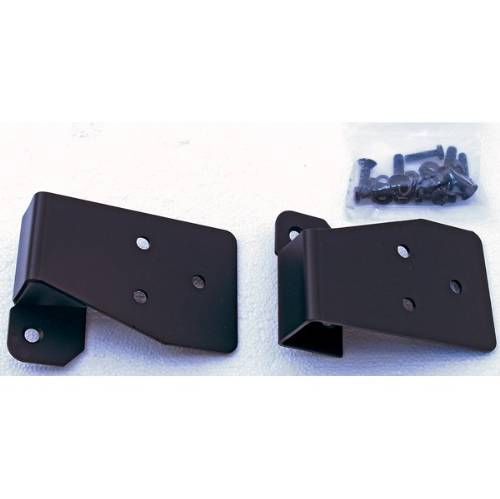 Fat Bob's Garage, Rugged Ridge, Part #11025.03, Jeep TJ/LJ Wrangler Mirror Relocation Brackets, Black 2003-2006_MAIN
