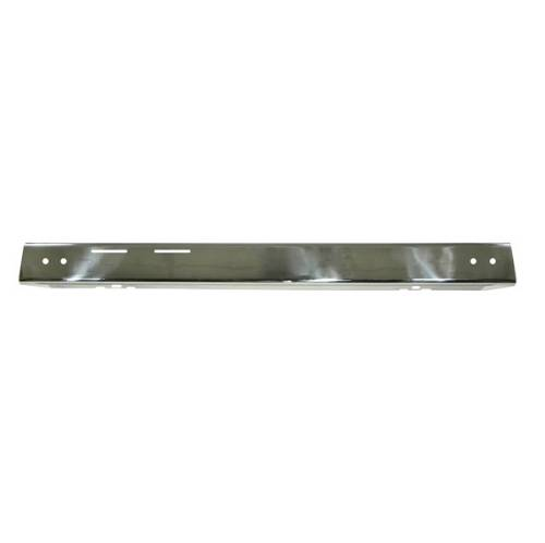 Fat Bob's Garage, Rugged Ridge, Part #11109.02, Jeep YJ Wrangler Front Bumper Overlay, Stainless Steel 1987-1995 MAIN