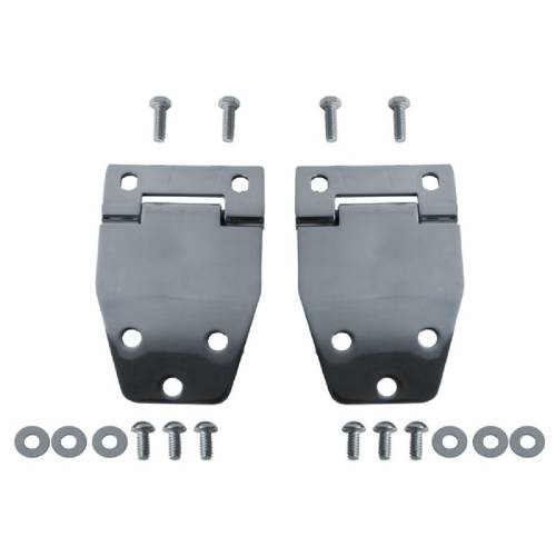 Fat Bob's Garage, Rugged Ridge, Part #11115.01, Jeep CJ Hardtop Liftgate Hinge Kit, Stainless Steel 1976-1986 MAIN