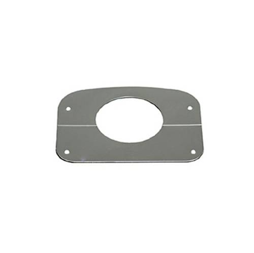 Fat Bob's Garage, Rugged Ridge, Part #11128.01, Jeep CJ Steering Column Cover, Stainless Steel 1976-1986 MAIN