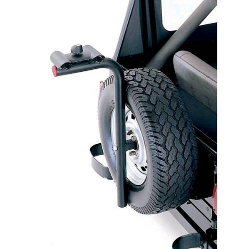 Fat Bob's Garage, Rugged Ridge, Part #11237.10, Spare Tire Bike Carrier MAIN