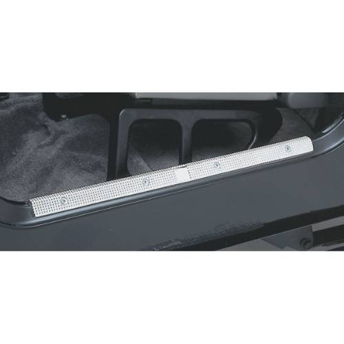 Fat Bob's Garage, Rugged Ridge, Part #11238.21, Jeep TJ/LJ Wrangler Door Entry Guards, Aluminum 1997-2006 MAIN