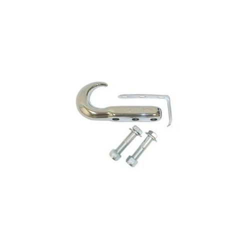 Fat Bob's Garage, Rugged Ridge, Part #11303.03, Tow Hook, Chrome, Universal Application, Each_MAIN