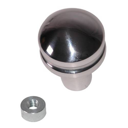 Fat Bob's Garage, Rugged Ridge, Part #11420.23, Jeep TJ/LJ Wrangler Billet Shift Knob, Blank 1997-2006 MAIN