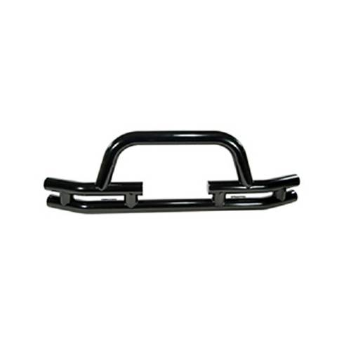 "Fat Bob's Garage, Rugged Ridge, Part #11560.03, Jeep CJ/Wrangler 3"" Double Tube Front Winch Bumper 1976-2006 MAIN"