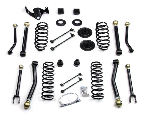 "Teraflex JK 2 Door 3"" Lift Kit w/ 8 FlexArms - Right Hand Drive LARGE"