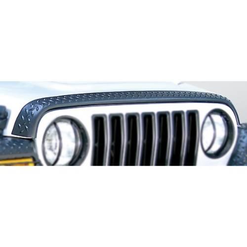 [NRIO_4796]   Jeep TJ/LJ Wrangler Hood Guard Body Armor 1997-2006 | 2006 Jeep Wrangler Hood |  | Fat Bob's Garage