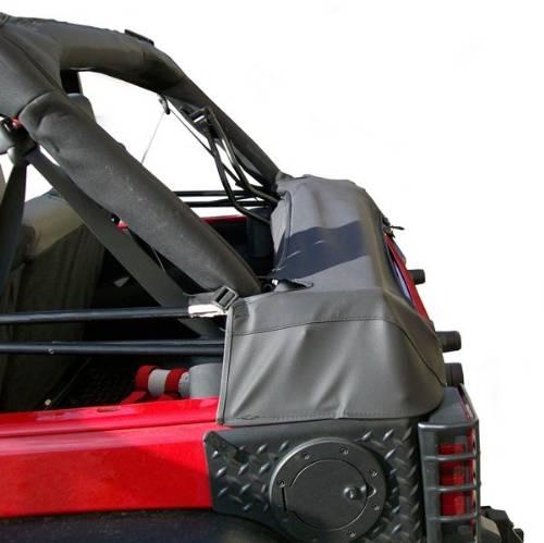 jeep jk wrangler 4 door soft top storage boot black diamond 2007 2016. Black Bedroom Furniture Sets. Home Design Ideas