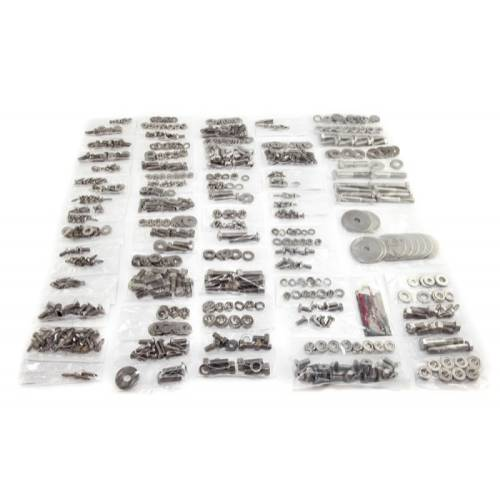Fat Bob's Garage, OMIX-ADA Part #12215.07, Fastener Kit Soft Top MAIN