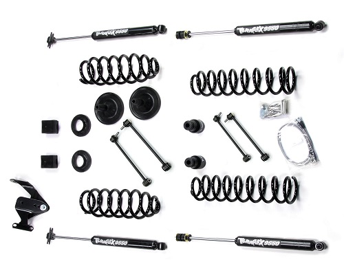 "Teraflex JK 2 Door 3"" Lift Kit w/ 9550 Shocks LARGE"