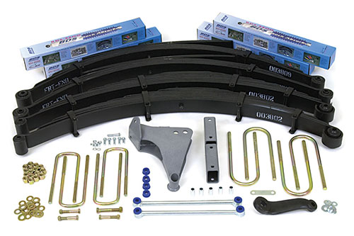 "Fat Bob's Garage, BDS Part #1300, Ford F250/F350 6"" Suspension Lift Kit 4WD 1999-2004 MAIN"