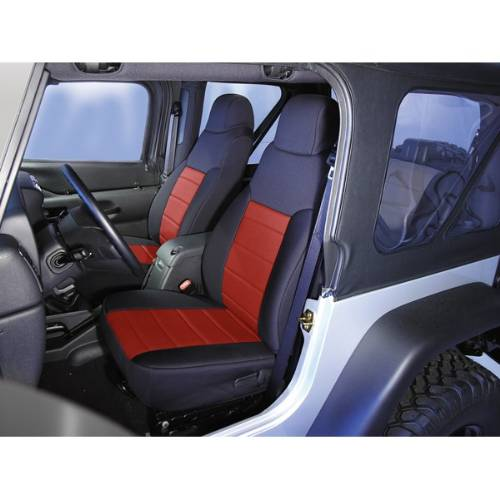 Amazing Jeep Tj Wrangler Neoprene Front Seat Covers 2003 2006 Dailytribune Chair Design For Home Dailytribuneorg