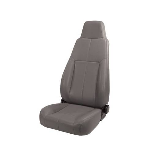 Fat Bob's Garage, Rugged Ridge, Part #13403.09, Jeep CJ/Wrangler Factory Style Front Seat, Gray 1976-2002 MAIN