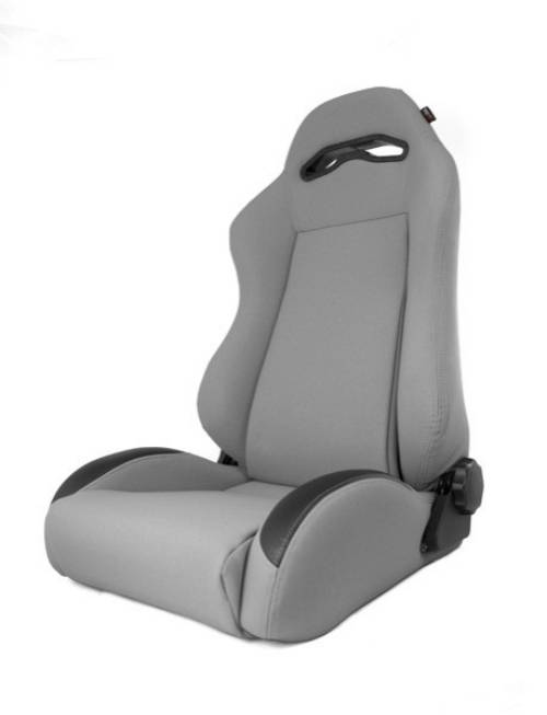 Fat Bob's Garage, Rugged Ridge, Part #13447.09, Jeep XJ Cherokee XHD Sierra Reclining Front Seat, Gray 1984-2001 MAIN