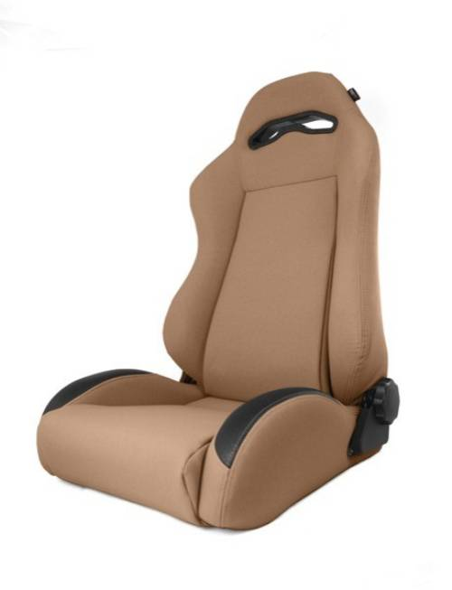Fat Bob's Garage, Rugged Ridge, Part #13447.37, Jeep XJ Cherokee XHD Sierra Reclining Front Seat, Spice 1984-2001 MAIN