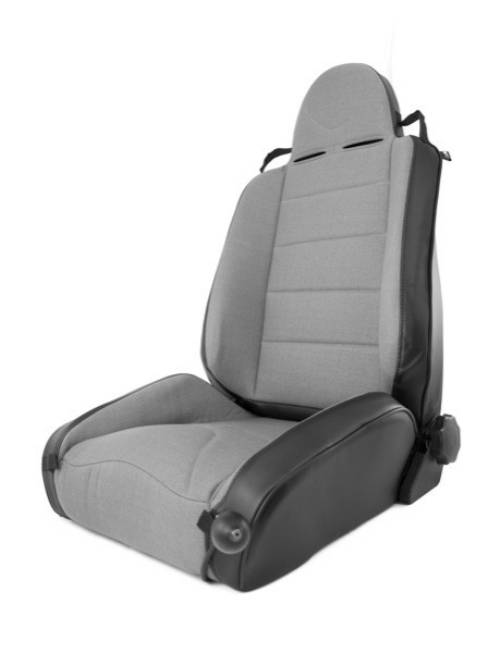 Fat Bob's Garage, Rugged Ridge, Part #13448.09, Jeep XJ Cherokee XHD Off Road Front Seat, Black Gray 1984-2001 MAIN