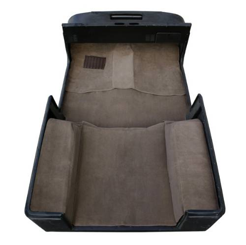Fat Bob's Garage, Rugged Ridge, Part #13695.10, Jeep CJ/Wrangler Deluxe Carpet Kit With Adhexive, Honey 1976-1995 MAIN