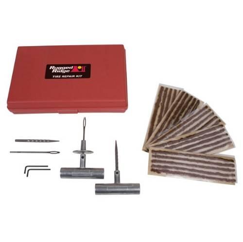 Tire Repair Kit Rugged Ridge Universal Application